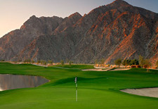 Silver Rock Resort and golf course in La Quinta near Palm Springs, California.